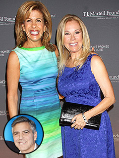 Why Kathie Lee and Hoda Are Not Excited About George Clooney's Engagement | Engagements, George Clooney, Hoda Kotb, Kathie Lee Gifford