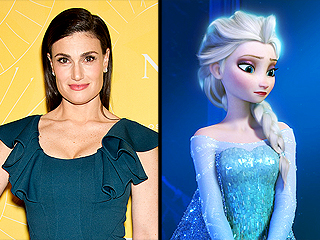 Idina Menzel Would 'Absolutely' Love to Star in Broadway's Frozen
