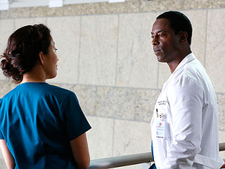 Isaiah Washington Returns to Grey's – and PEOPLE's TV Critic Weighs In | Isaiah Washington, Sandra Oh