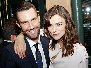 How Adam Levine and Keira Knightley Bonded on the Set of Their New Movie