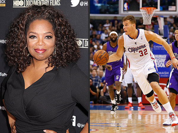 Oprah, Matt Damon Among Famous Bidders Already Lining Up for L.A. Clippers | Oprah Winfrey