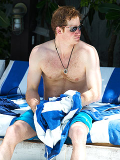 Prince Harry Goes Shirtless in Miami and Visits Graceland in Memphis with William | Prince Harry