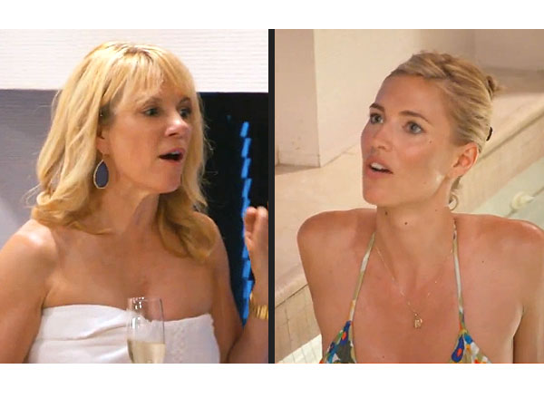 Ramona Singer & Kristen Taekman Continue to Argue over Thrown Drink on RHONY (VIDEO)
