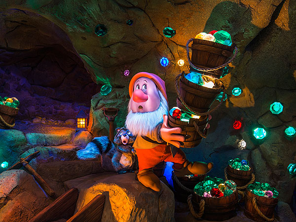 Heigh-Ho! Seven Dwarfs Mine Train Opening at Walt Disney World