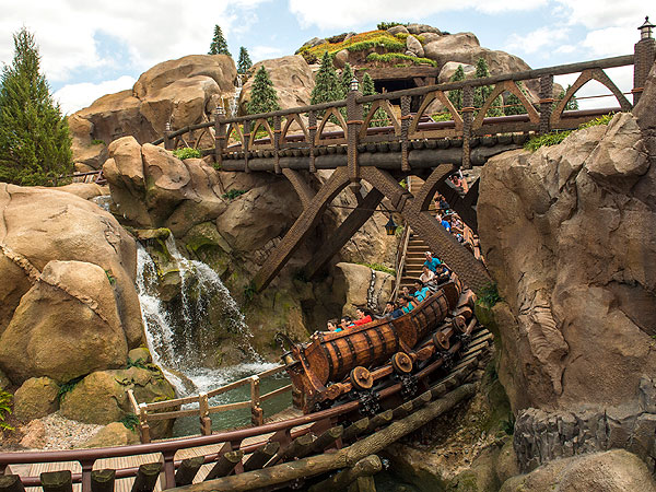 Heigh-Ho! Seven Dwarfs Mine Train Opening at Walt Disney World| Snow White and the Seven Dwarfs, Walt Disney World, Walt Disney