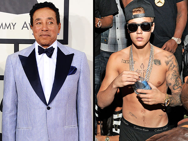 Smokey Robinson's Advice to Justin Bieber: Ditch Your Friends