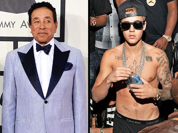 Smokey Robinson's Advice to Justin Bieber: Ditch Your Friends