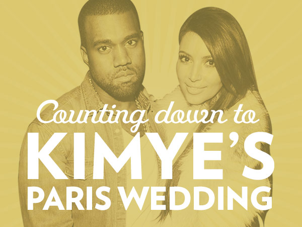 Inside Kim Kardashian's Pre-Wedding Beauty Prep| Wedding, Kanye West, Kim Kardashian
