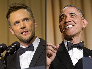 What He Said: Best Quips from Obama and Joel McHale at the Correspondents' Dinner