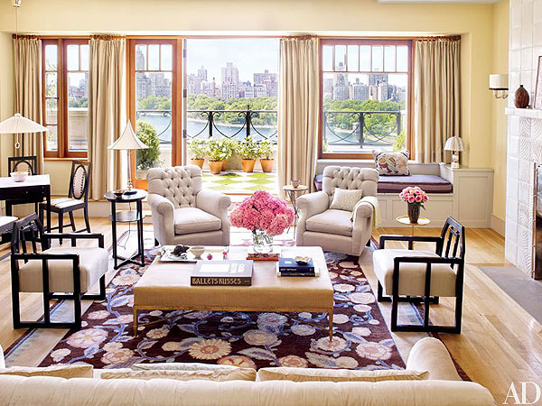 Bette Midler Shows Off Her Airy, Open N.Y.C. Penthouse| New York, Bette Midler
