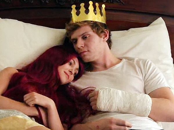 AnnaSophia Robb & Evan Peters Spoof The Little Mermaid – Watch Now