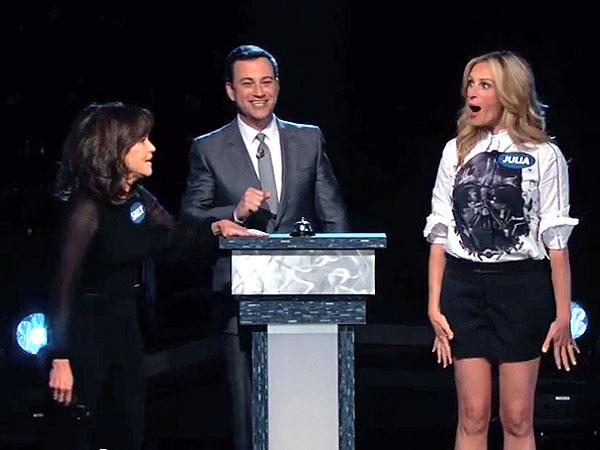 Julia Roberts Vs. Sally Field in Hilarious Jimmy Kimmel Live! Curse Off