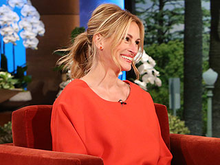 Julia Roberts Lets Loose on Her Tattoos – & Pal George Clooney's Engagement | Ellen DeGeneres, Julia Roberts