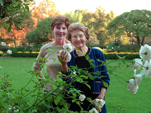 Laura Bush's Sweet Mother's Day Tribute to Her Mom (Photo)| Mother's Day, Mother's Day, George W. Bush, Laura Bush