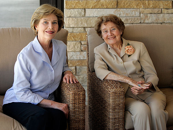 Laura Bush's Sweet Mother's Day Tribute to Her Mom (Photo)