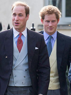 Prince William and Prince Harry Party at Pal's Wedding in Memphis