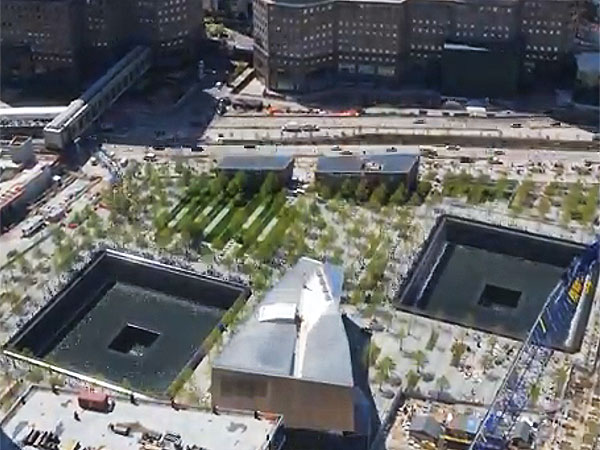 WATCH: Powerful Time-Lapse Shows Construction of National September 11 Memorial & Museum