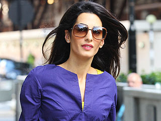 PHOTO: Amal Alamuddin Looks Super Glam Heading to Work in London
