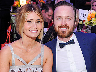 Aaron Paul Says 'Marriage Is the Greatest Thing' (But His Wife Says His Beard Is!)