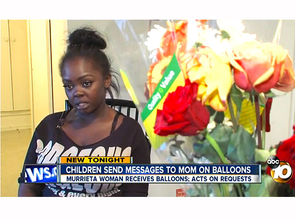 Woman Finds Balloon Messages from Grieving Kids, Raises Funds for Their Mom's Funeral
