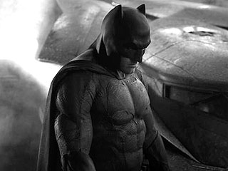 Ben Affleck Is a Buff, Brooding Batman in First Photo