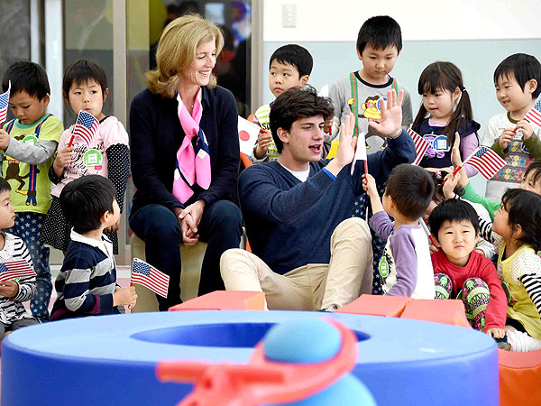 Jack Kennedy Schlossberg Steps Into the Family Business| Caroline Kennedy, Jacqueline Kennedy Onassis, John F. Kennedy, John F. Kennedy Jr.