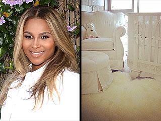 So Cute! See Ciara's All-White Nursery