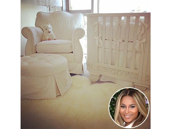 Ciara Pregnant Instagram Nursery