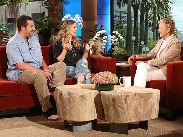 Drew Barrymore The Ellen DeGeneres Show