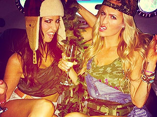 Emily Maynard Celebrates Her Upcoming Wedding with a 'White Trash Bash'