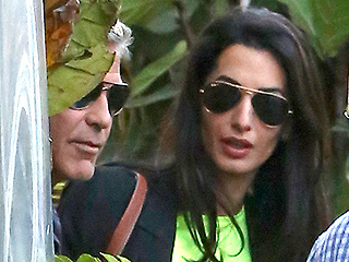 George Clooney 'Had a Cheeky Grin' While Celebrating Engagement