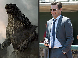 Godzilla vs. Jon Hamm: What to See and Skip at the Movies This Weekend
