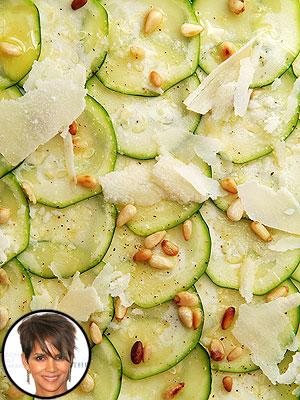Halle Berry's Zucchini Carpaccio
