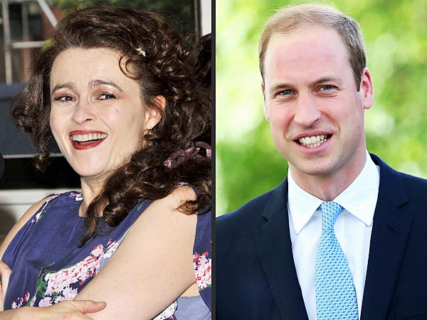 Helena Bonham Carter Once Drunkenly Asked Prince William to 'Be a Godparent' | Helena Bonham Carter, Prince William