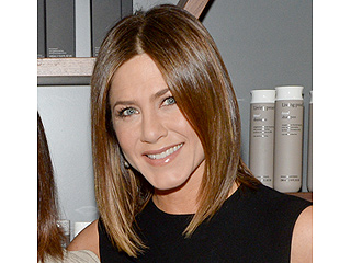 Jennifer Aniston Sports Sleek Brown Bob