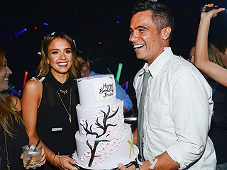 Jessica Alba Rings In 33rd Birthday with Las Vegas Bash