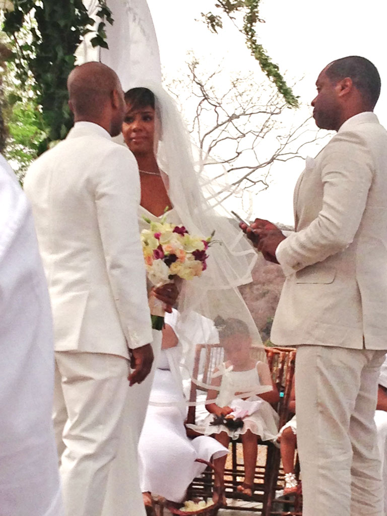 Kelly Rowland Marries Tim Weatherspoon : People.com  Kelly