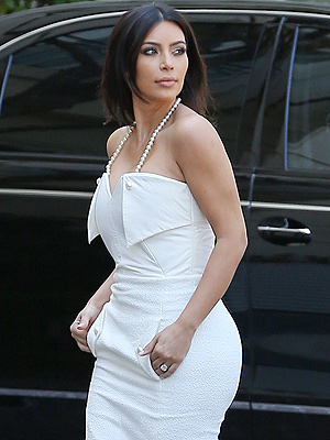 Kim Kardashian Celebrates Wedding Shower in Beverly Hills
