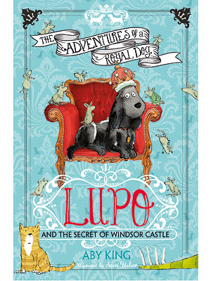 Here's Lupo! The Royal Dog's Adventures Are Turned into aChildren's Book