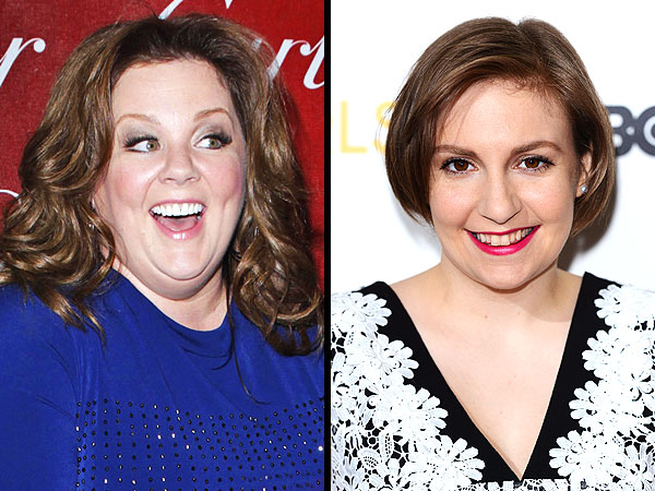 Melissa McCarthy on Lena Dunham: 'She's My Girl Crush'