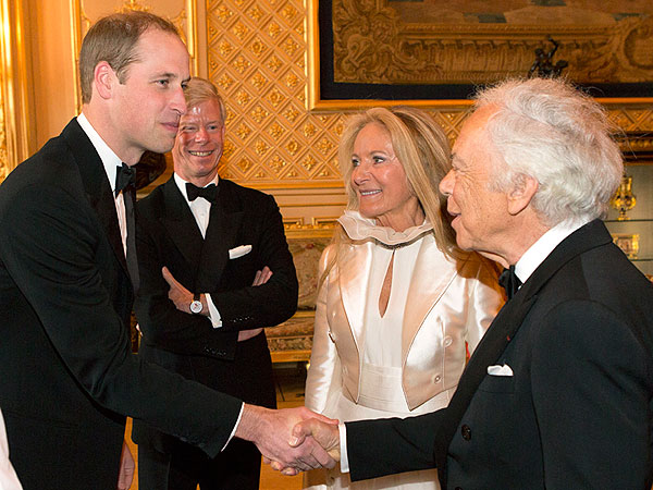 Prince William to Ralph Lauren: I Know You'd Rather See My Wife