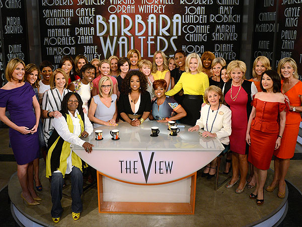 Fans, Fun and Oprah: Barbara Walters Celebrates Her Final Day on The View