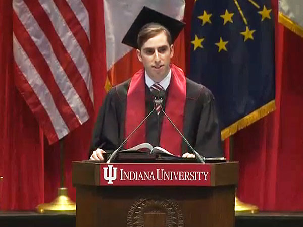 Indiana University Grad Overcomes Stutter to Deliver Inspiring Commencement Speech