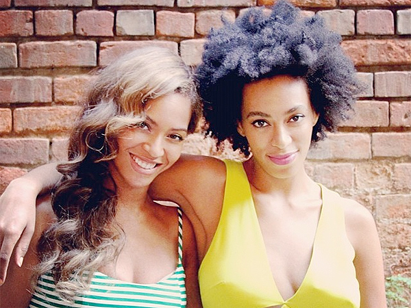 Beyonce Posts New Photo with Solange on Instagram