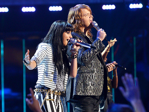American Idol Finale Recap: Jena Irene & Caleb Johnson Battle It Out