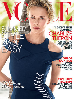 Charlize Theron Talks 'Effortless' Relationship with Sean Penn, Why She Won't Get Married| Vogue, Couples, Charlize Theron, Sean Penn
