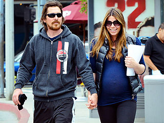 PHOTO: Christian Bale Steps Out with Pregnant Wife Sibi Blazic | Christian Bale
