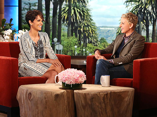 Halle Berry Ellen DeGeneres Show Breastfeeding