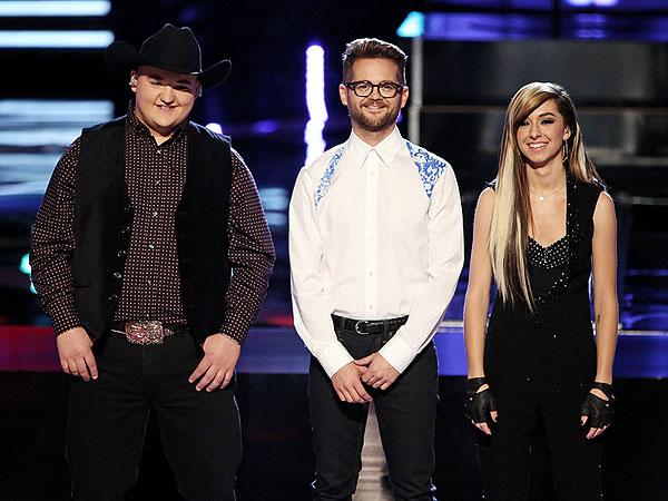 The Voice Finale: Blake Shelton, Adam Levine & Usher Sound Off on Final Three