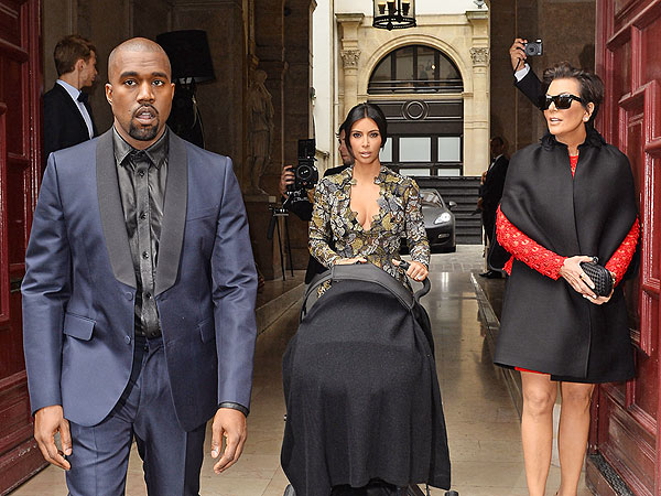 North Was the Perfect Guest at Valentino's Lunch for Kim Kardashian & Kanye West